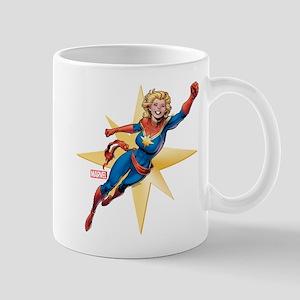 Captain Marvel Flying Mug