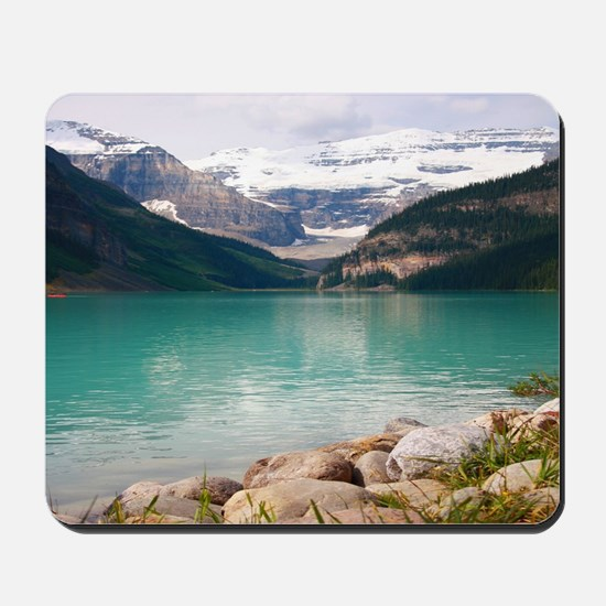 mountain landscape lake louise Mousepad