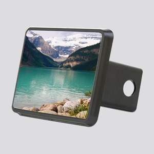 mountain landscape lake lo Rectangular Hitch Cover