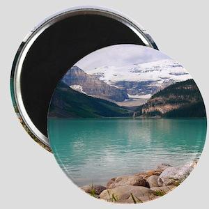mountain landscape lake louise Magnet