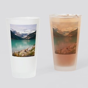 mountain landscape lake louise Drinking Glass