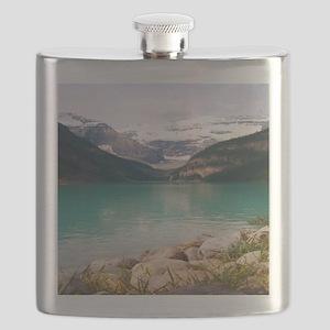 mountain landscape lake louise Flask