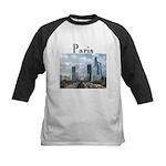 Paris Kids Baseball Jersey