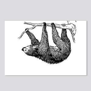 Vintage Sloth Hang In There Postcards (Package of