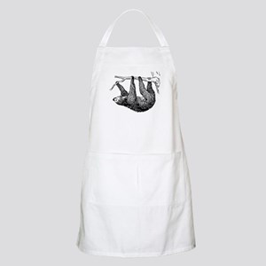 Vintage Sloth Hang In There Apron