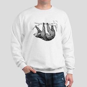 Vintage Sloth Hang In There Sweatshirt