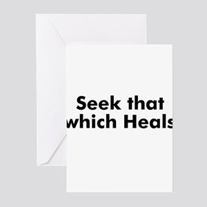 Seek that which Heals Greeting Cards (Pk of 10)
