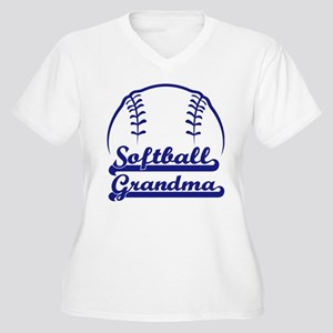 PROUD GRANDMA Women's Plus Size V-Neck T-Shirt