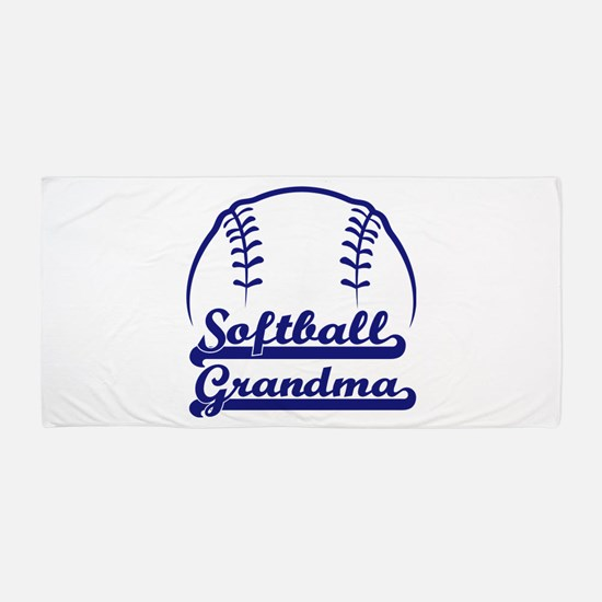 PROUD GRANDMA Beach Towel