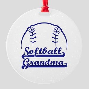 PROUD GRANDMA Round Ornament