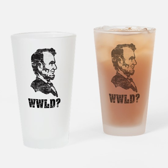 lincoln.png Drinking Glass