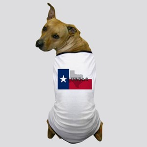 Texas Flag Extra Dog T-Shirt