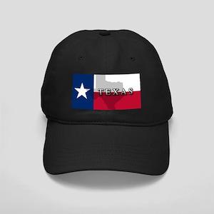 Texas Flag Extra Black Cap