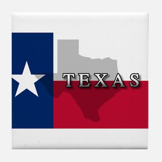 Texas Flag Extra Tile Coaster