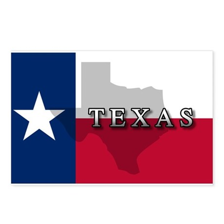 Texas Flag Extra Postcards (Package of 8)