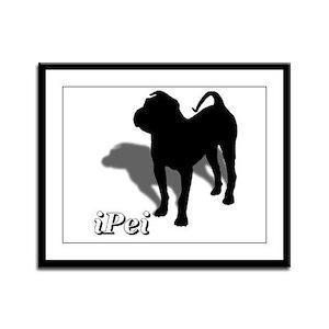 iPei Framed Panel Print
