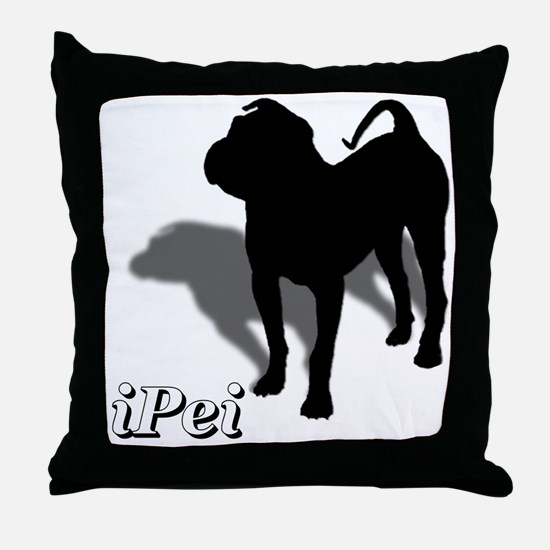 iPei Throw Pillow