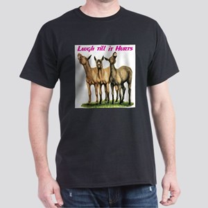 Mules, laugh till it hurts Dark T-Shirt
