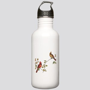 Cardinal Couple Water Bottle