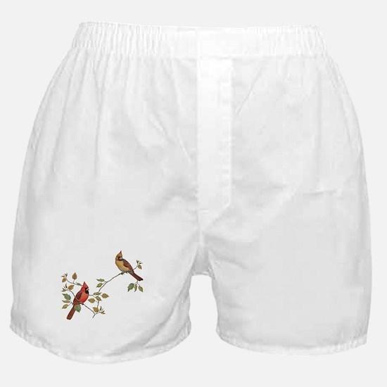 Cardinal Couple Boxer Shorts