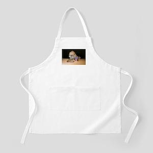 Bichon Frise BBQ Apron