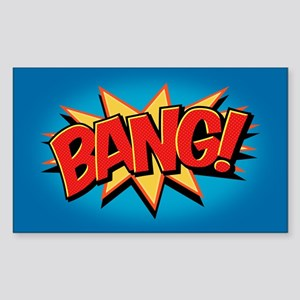 Bang! Sticker (Rectangle)