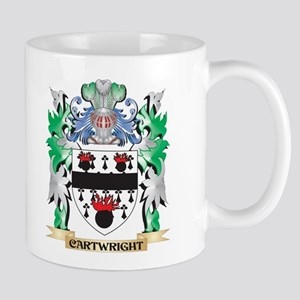 Cartwright Coat of Arms - Family Crest Mugs