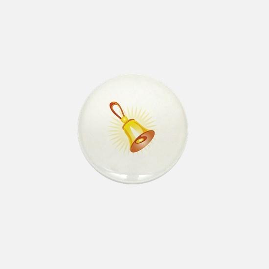 Hand Bell Mini Button