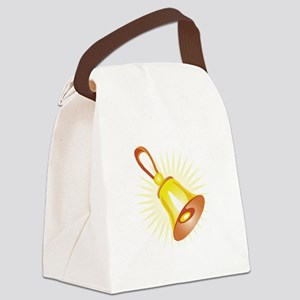Hand Bell Canvas Lunch Bag