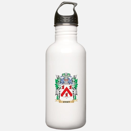 Casey Coat of Arms - F Water Bottle