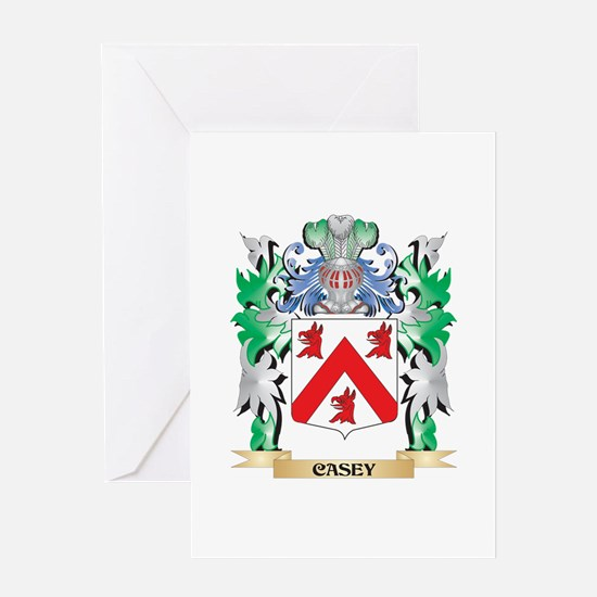 Casey Coat of Arms - Family Crest Greeting Cards