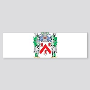 Casey Coat of Arms - Family Crest Bumper Sticker