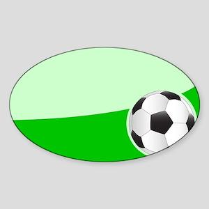 Soccer Ball Background Sticker