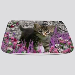 Emma in Flowers I Bathmat
