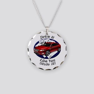 Ford Taurus SHO Necklace Circle Charm