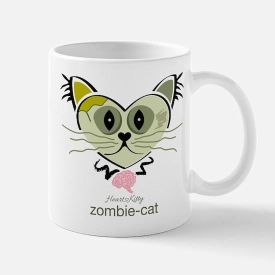 Zombie-Cat Mugs