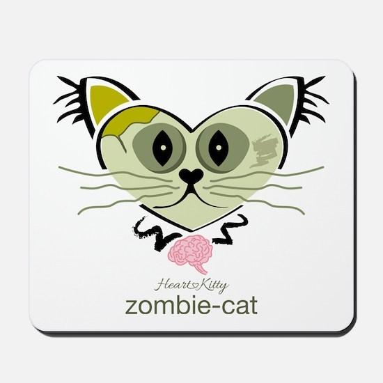 Zombie-Cat Mousepad