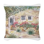 Landscape Woven Throw Pillow