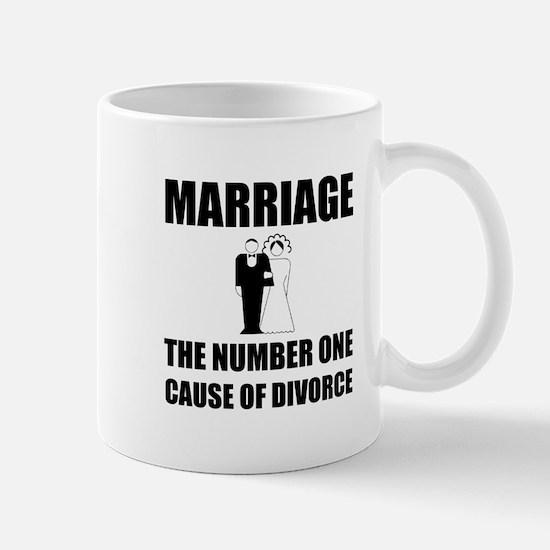 Cause Of Divorce Mugs