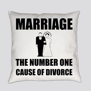 Cause Of Divorce Everyday Pillow