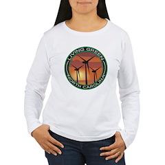 Living Green North Carolina Wind Power T-Shirt