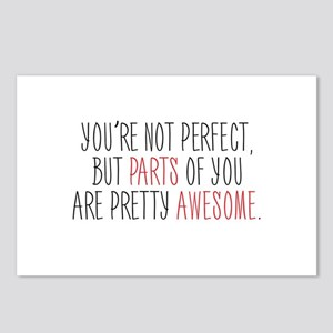 You're Not Perfect Postcards (Package of 8)