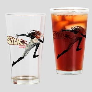 Silk Running Drinking Glass