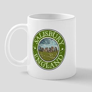 Salisbury, England Mug