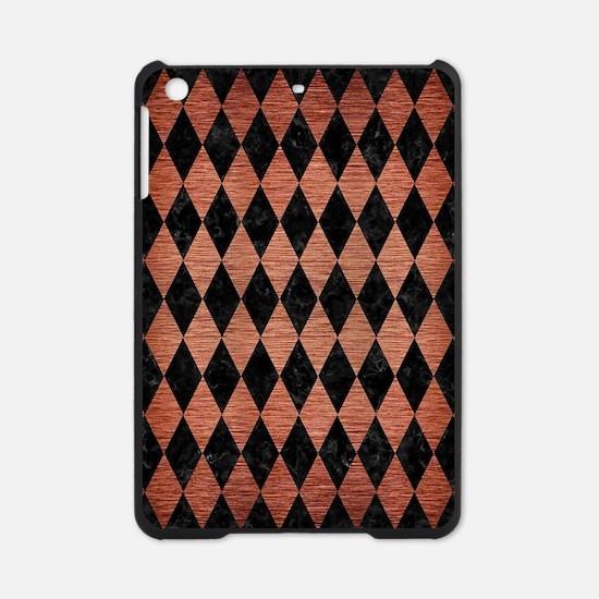 DIAMOND1 BLACK MARBLE & COPPER BRUS iPad Mini Case