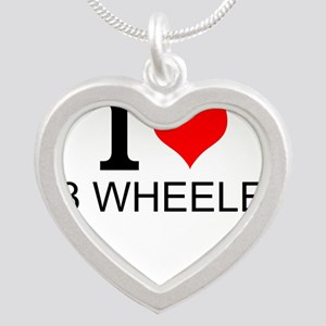 I Love 18 Wheelers Necklaces