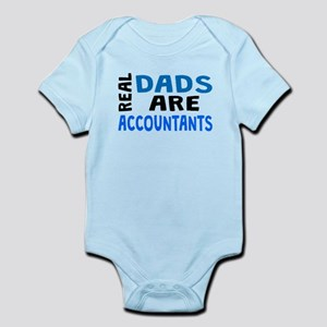 Real Dads Are Accountants Body Suit