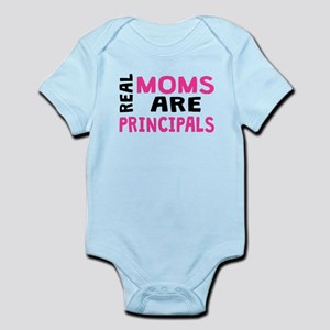 Real Moms Are Principals Body Suit