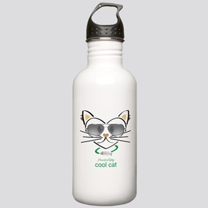 Cool Cat Stainless Water Bottle 1.0L