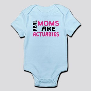 Real Moms Are Actuaries Body Suit